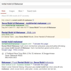 Google Search di Makassar
