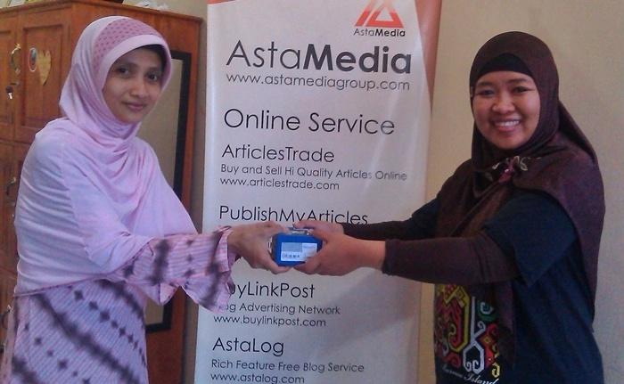 Juara 3 lomba blog AdRewa